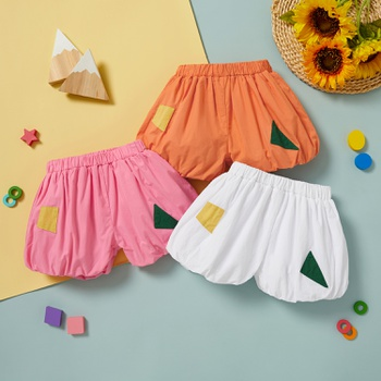 1pc Baby Girl Cotton Sweet Shorts