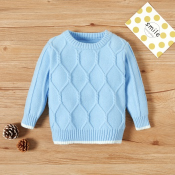 Baby casual Sweaters Winter Children Soft Warm Sweaters Knitted Pullover Jumpers Outfits
