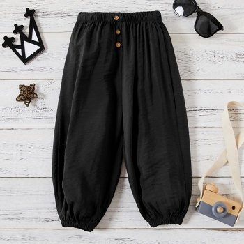 Baby/Toddler Boy Solid Fashionable Pants