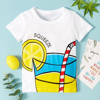 Baby / Toddler Stylish Juice Print Tee