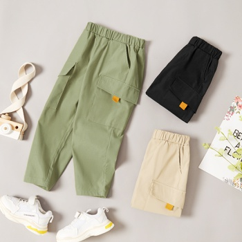 Baby / Toddler Boy Casual Pants With Pocket