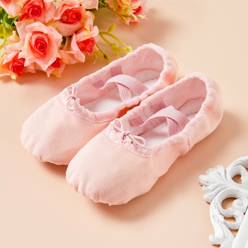 Toddler / Kid Solid Soft Ballet Shoes
